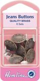 Jean Buttons: Bronze - 16mm