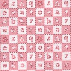 Alphabet - Pink