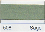 25mm Bias Binding - Sage