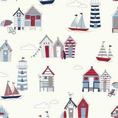 Oilcloth - Happy Days - Nautical