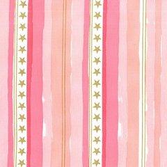 Michael Miller - Magic - Stars & Stripes - Pink
