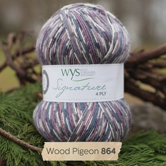 West Yorkshire Spinners - Signature 4ply - Wood Pigeon