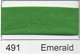 25mm Bias Binding - Emerald