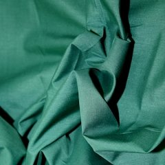 Polyester Cotton - Bottle Green