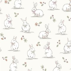 Woodland Bunnies - Cream
