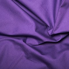 45'' Cotton Poplin - Purple