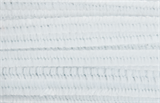 Chenilles 30cm x 12mm White