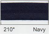 25mm Bias Binding - Navy