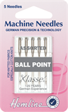 Ball Point Machine Needles - Assorted