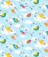 Blank Quilting - Backyard Buzz - Song Bird
