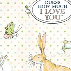Clothworks - Guess How Much I Love You - Main - Cream