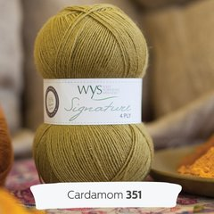West Yorkshire Spinners - Signature 4ply - Cardamom