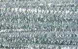 Glitter Chenilles 30cm x 6mm Silver