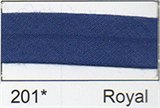 25mm Bias Binding - Royal Blue