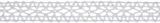 Cotton Lace: 5m x 14mm: White