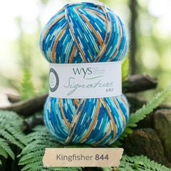 West Yorkshire Spinners - Signature 4ply - Kingfisher