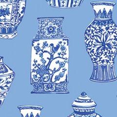 Clothworks - Blue Porcelain - Pottery - Blue