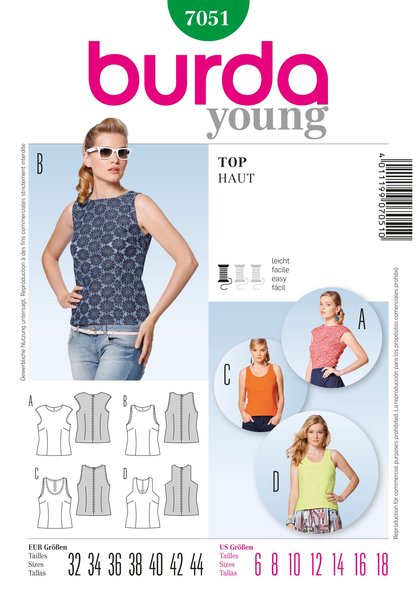 Burda Sewing Pattern - 7051
