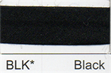 25mm Bias Binding - Black