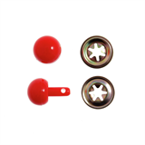 Toy Noses: Ball: 15mm: Red