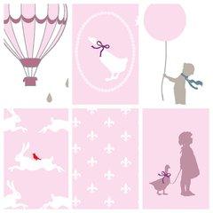 Gutermann - Little Friends Complete Pack - Pink