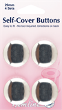 Self Cover Buttons - 29mm (Metal)