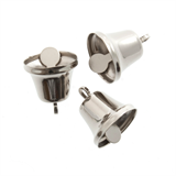 Bells: Liberty: 14mm: Silver: 5 Pack