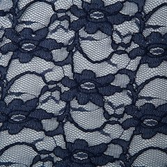 Corded Lace - Navy