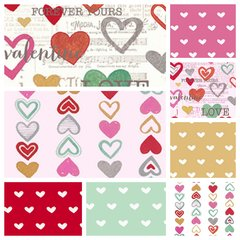 Clothworks - Vintage Valentine - Complete Pack (8)