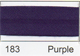 25mm Bias Binding - Purple