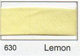 25mm Bias Binding - Lemon