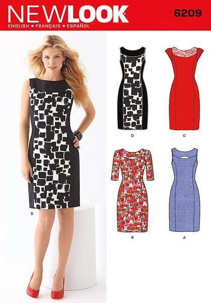 New Look Sewing Pattern 6209
