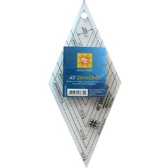 45 degree Diamond Acrylic Ruler