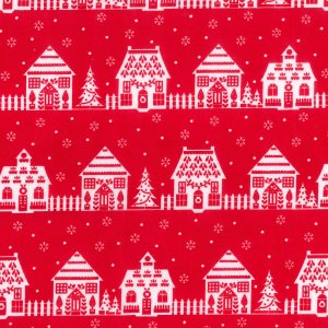 Christmas streets - Red