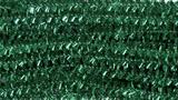 Glitter Chenilles 30cm x 6mm Green