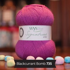 West Yorkshire Spinners - Signature 4ply - Blackcurrant Bomb