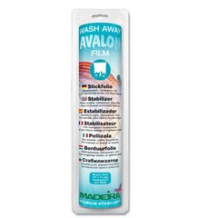 Madeira Avalon Wash Away Stabilizer - Soluble Film