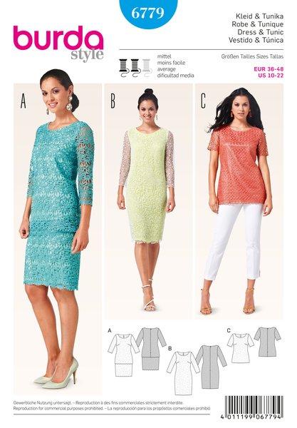 Burda Sewing Pattern - 6779