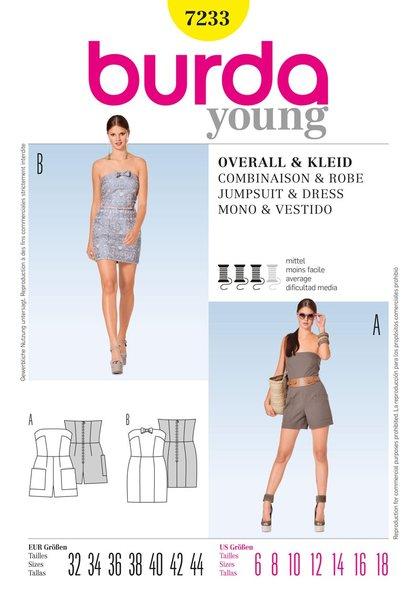Burda Sewing Pattern - 7233