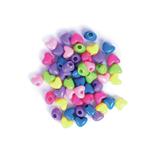Large Heart Beads: Plastic: 20g