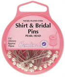 Shirt and Bridal Pins: Nickel - 34mm, 75pcs