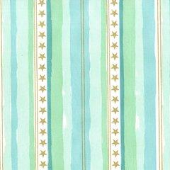Michael Miller - Magic - Stars & Stripes - Aqua