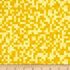 0.50mtr Remnant - Michael Miller - Ninja Gnomes - Bit Map - Yellow