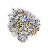 Silver & Gold Beads: Plastic: 20g
