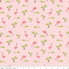 Riley Blake - Flamingos - Pink