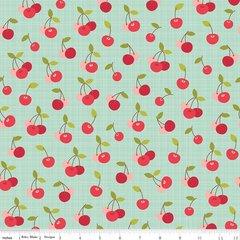 Riley Blake - Farm Girl - Cherry Pie - Teal
