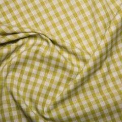 Corded Gingham 1/4'' checks - Lime