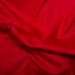 45'' Cotton Poplin - Scarlet