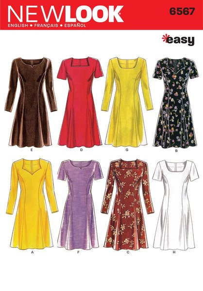 New Look Sewing Pattern 6567