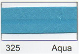 25mm Bias Binding - Aqua